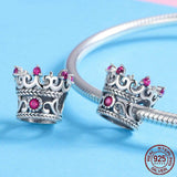 QUEEN'S CROWN Sterling Silver Charm