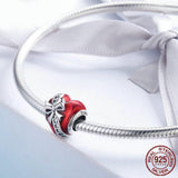 THE GIFT OF LOVE Heart Sterling Silver Charm