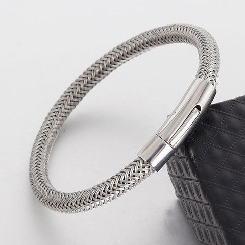 Stainless Steel Wire Wristband