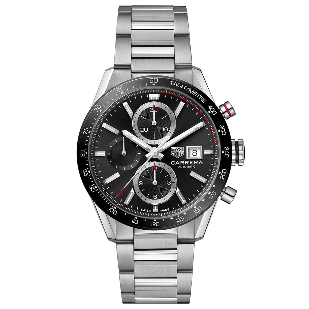 TAG HEUER CARRERA CALIBRE 16 - BLACK