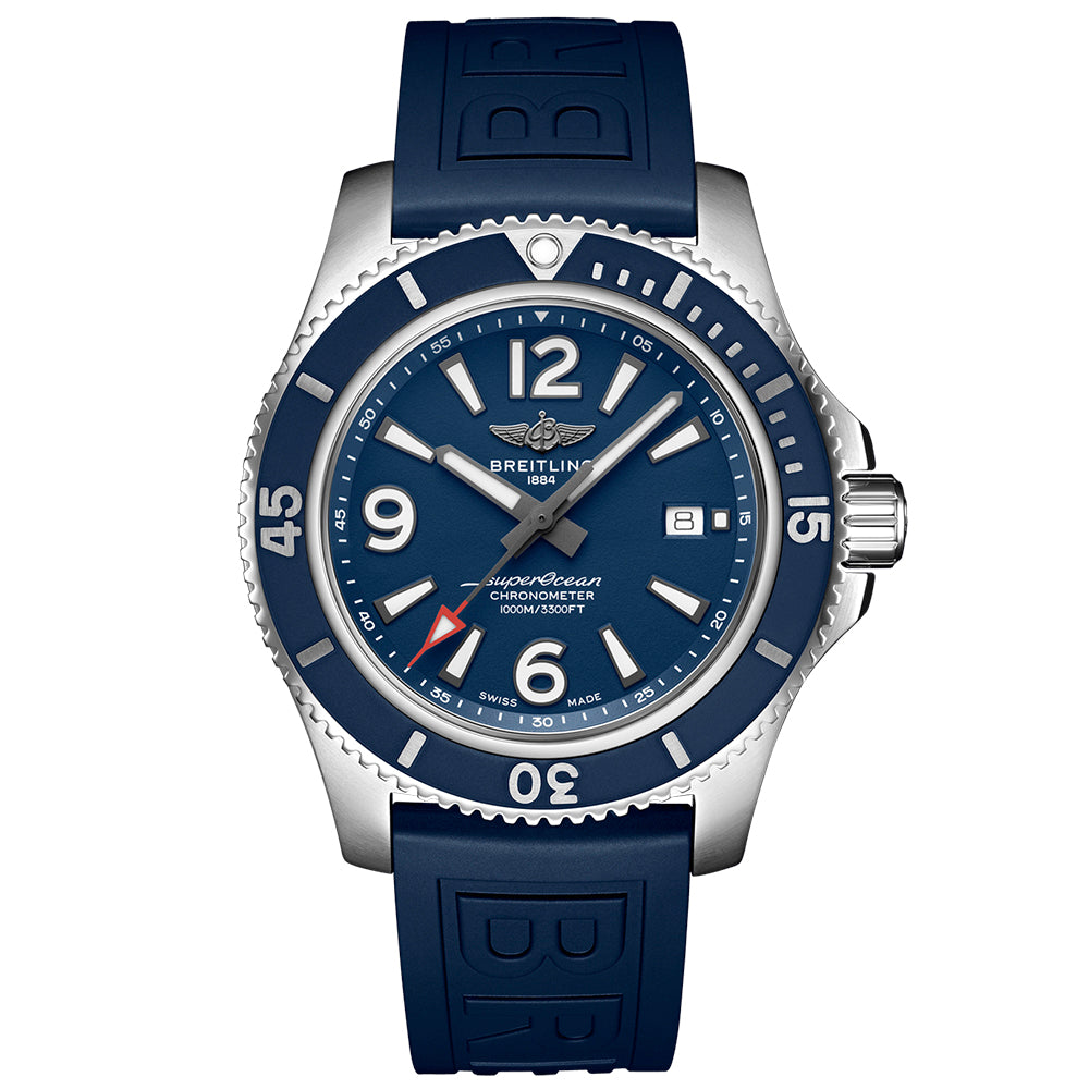 BREITLING SUPEROCEAN AUTOMATIC 44 Stainless Steel - Blue