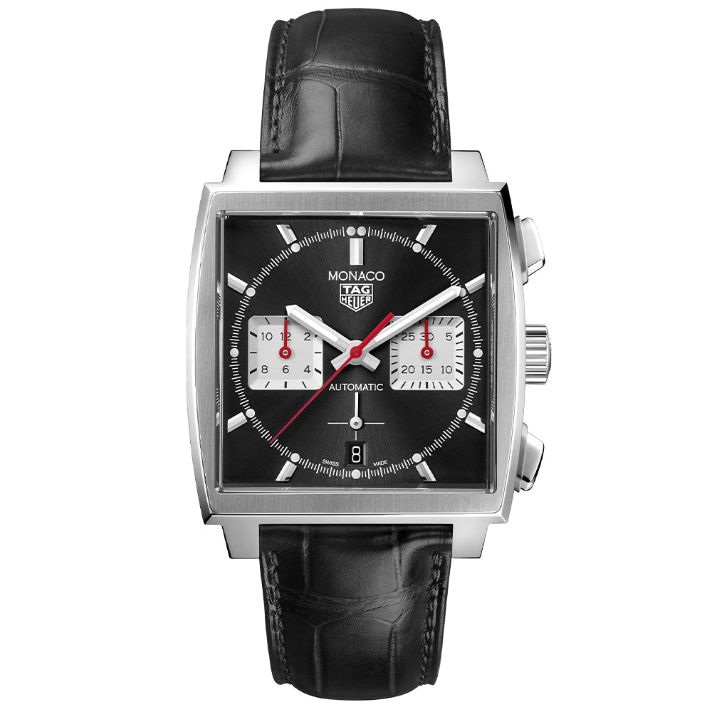NEW TAG HEUER MONACO - LEATHER STRAP (PRE-ORDER)