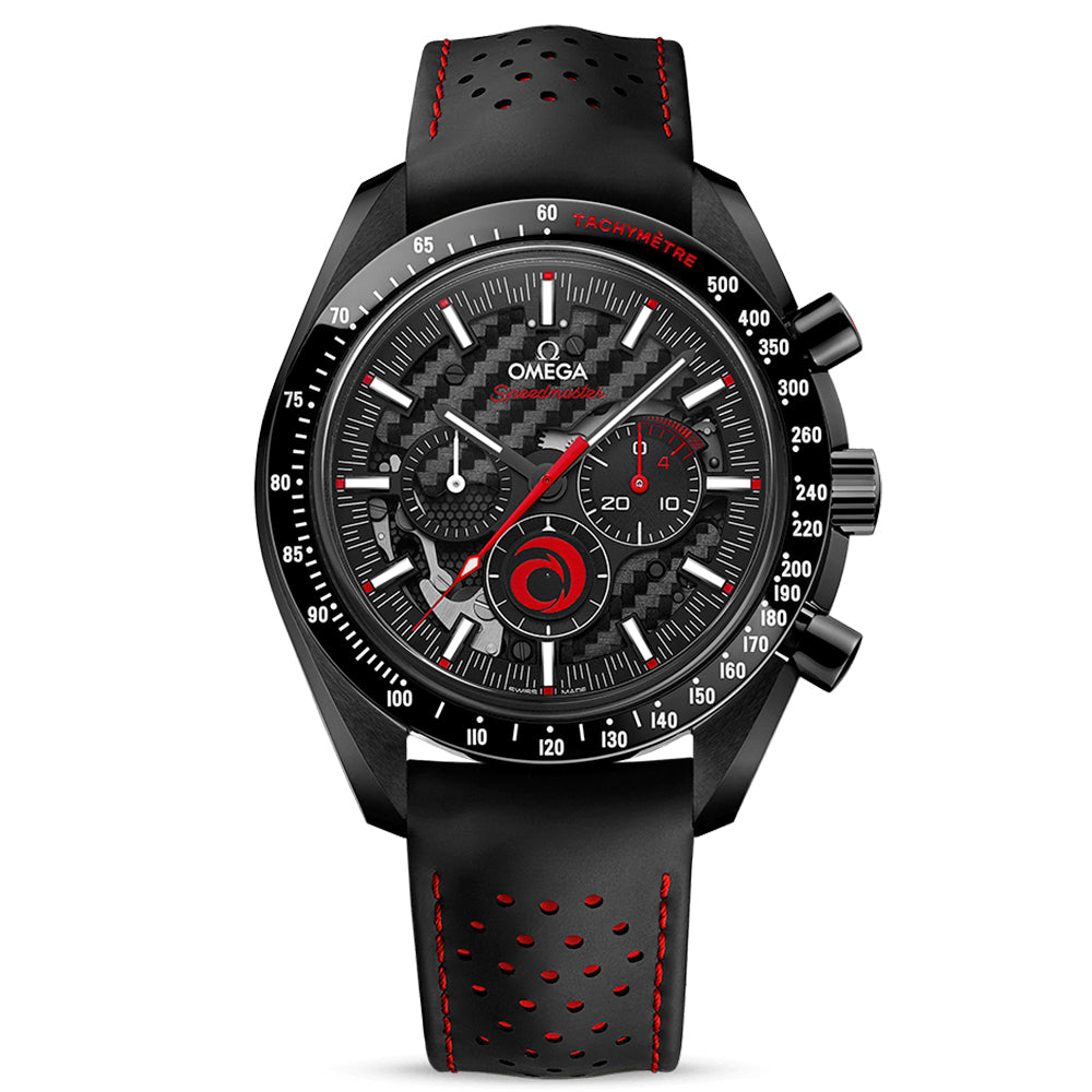 OMEGA SPEEDMASTER DARK SIDE OF THE MOON CHRONOGRAPH 44.25MM - Team Alinghi