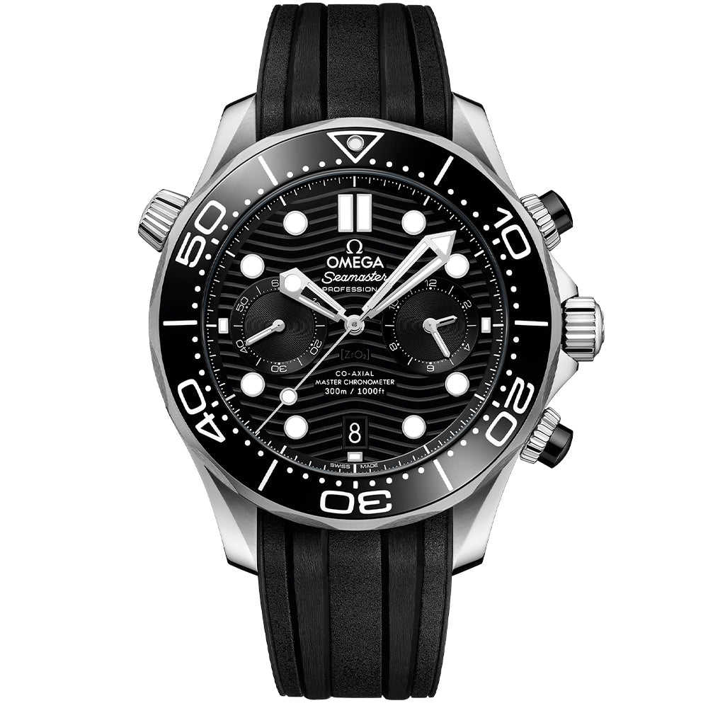 OMEGA SEAMASTER DIVER 300M CO‑AXIAL MASTER CHRONOMETER CHRONOGRAPH 44MM