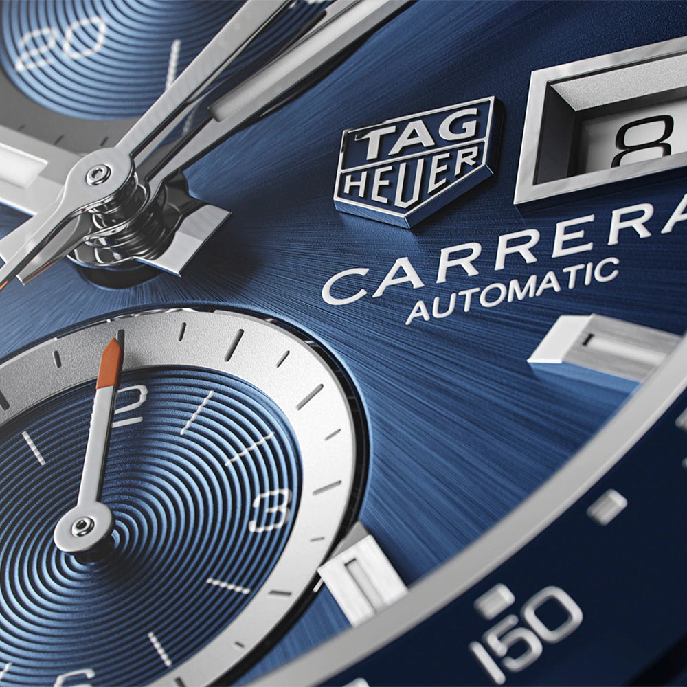 TAG HEUER CARRERA CALIBRE 16 - BLUE