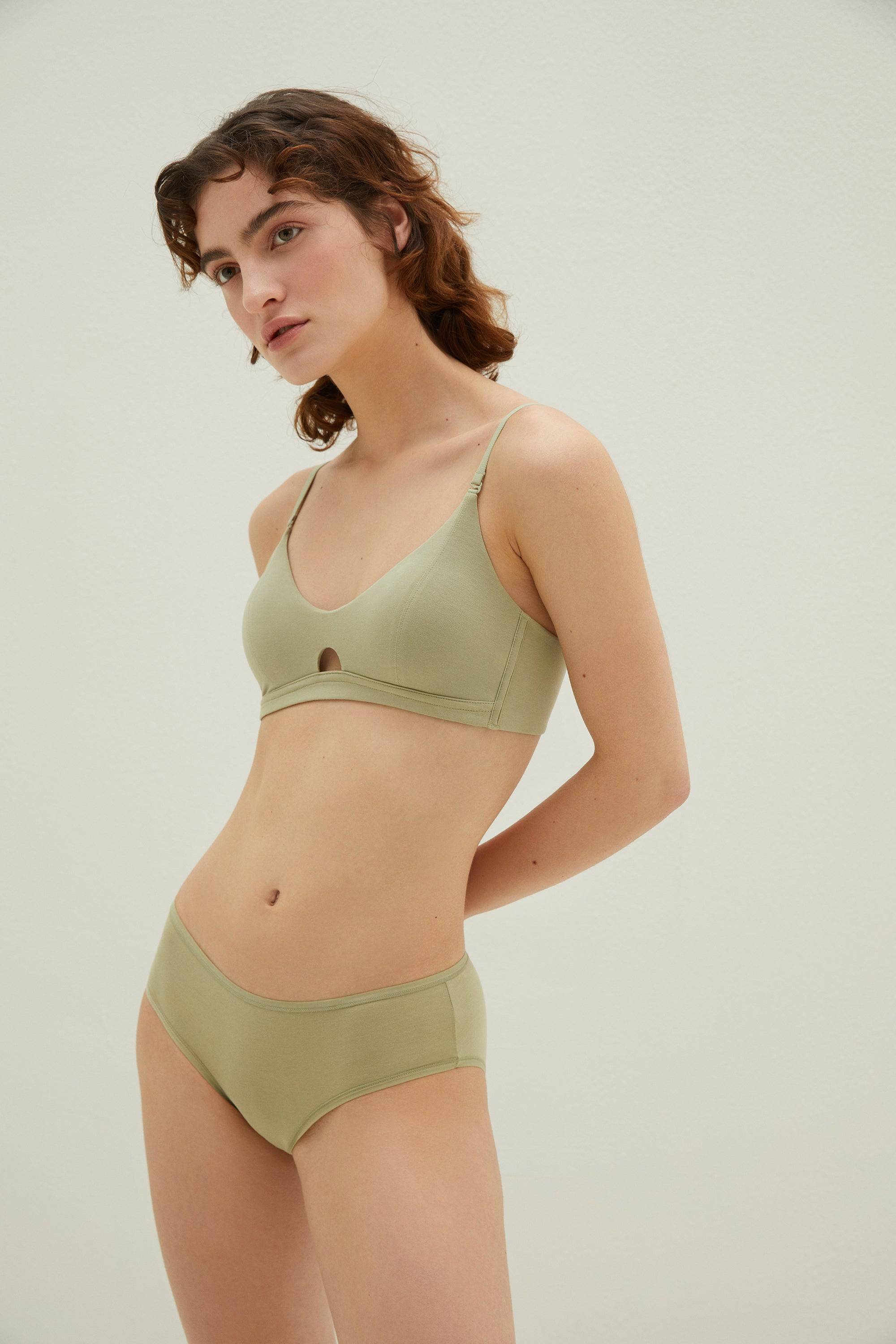 Pure Comfort Soft Modal Triangle Bra