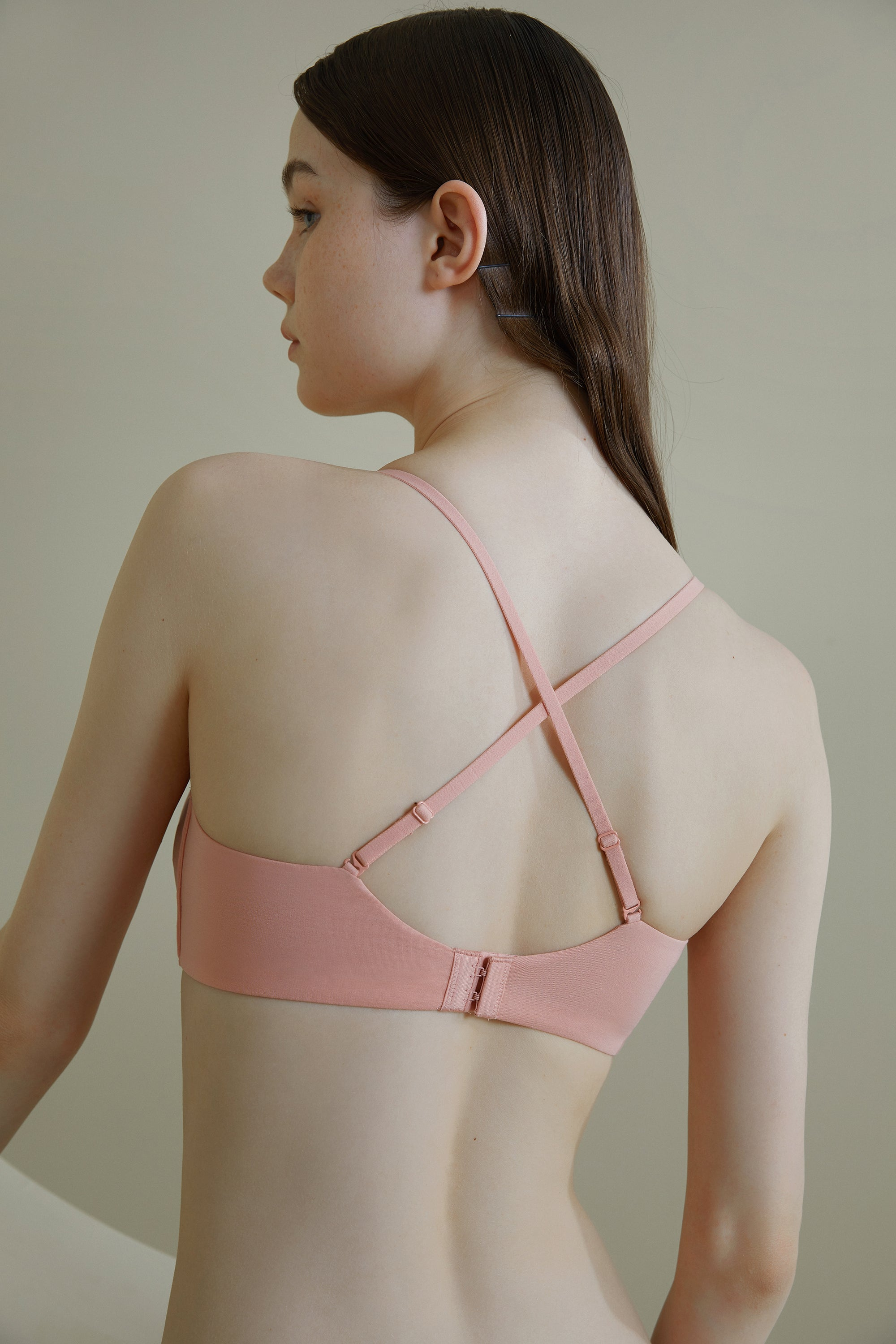 NEIWAI Convertible Soft Modal Bra in Soft Pink