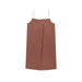 NEIWAI Cotton Pleated Night Slip in Hazelnut