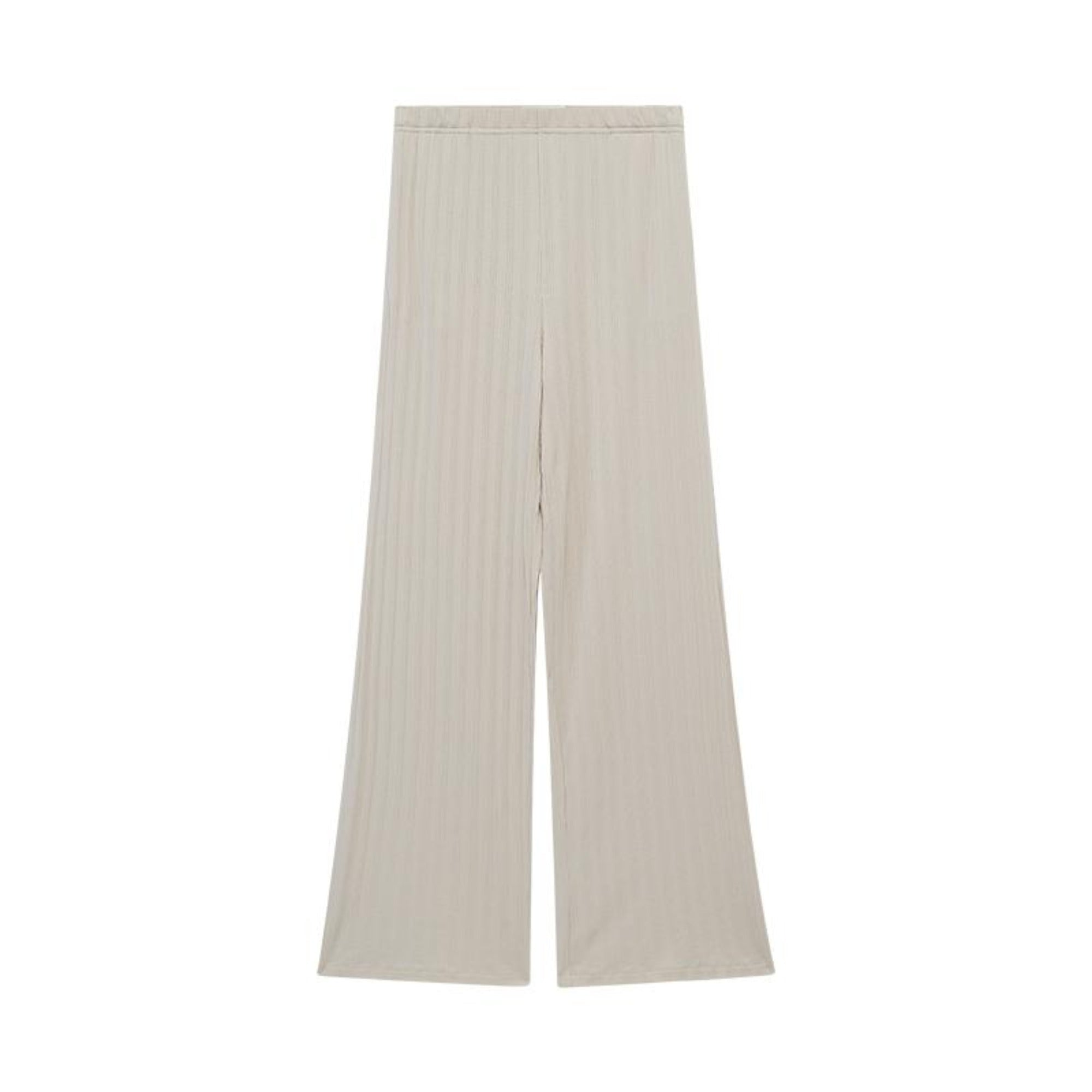 NEIWAI's Laid Back Ribbed Lounge Pants in Soft Pink.
