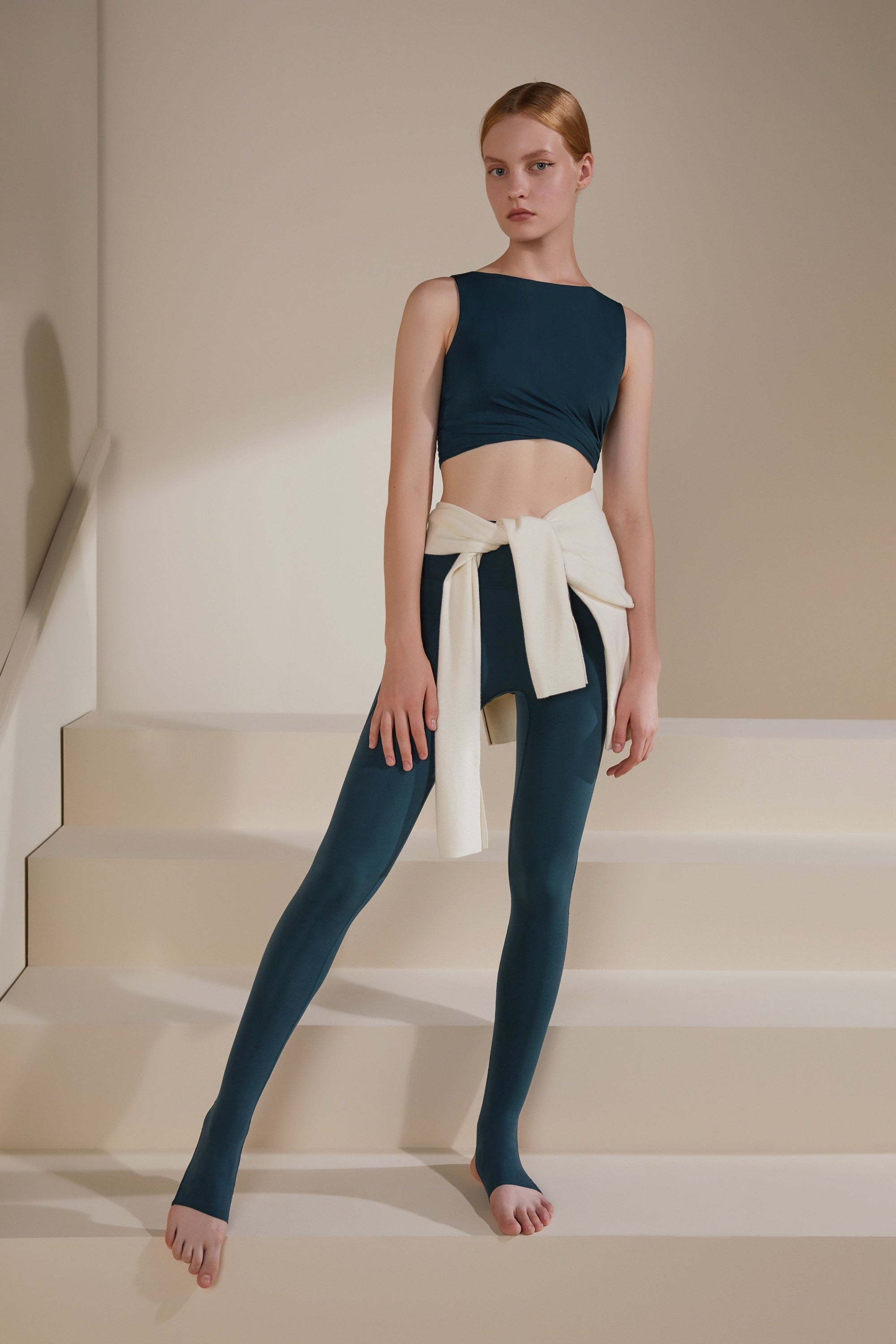 NEIWAI ACITVE · Ballet  Stirrup Leggings in Serenity Blue
