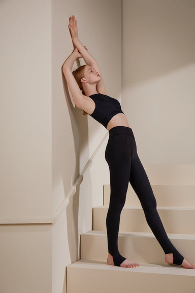 NEIWAI ACITVE · Ballet  Stirrup Leggings in Black,