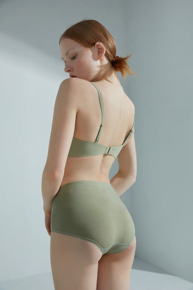 NEIWAI Convertible Bandeau Bra Back Straps  in Avocado