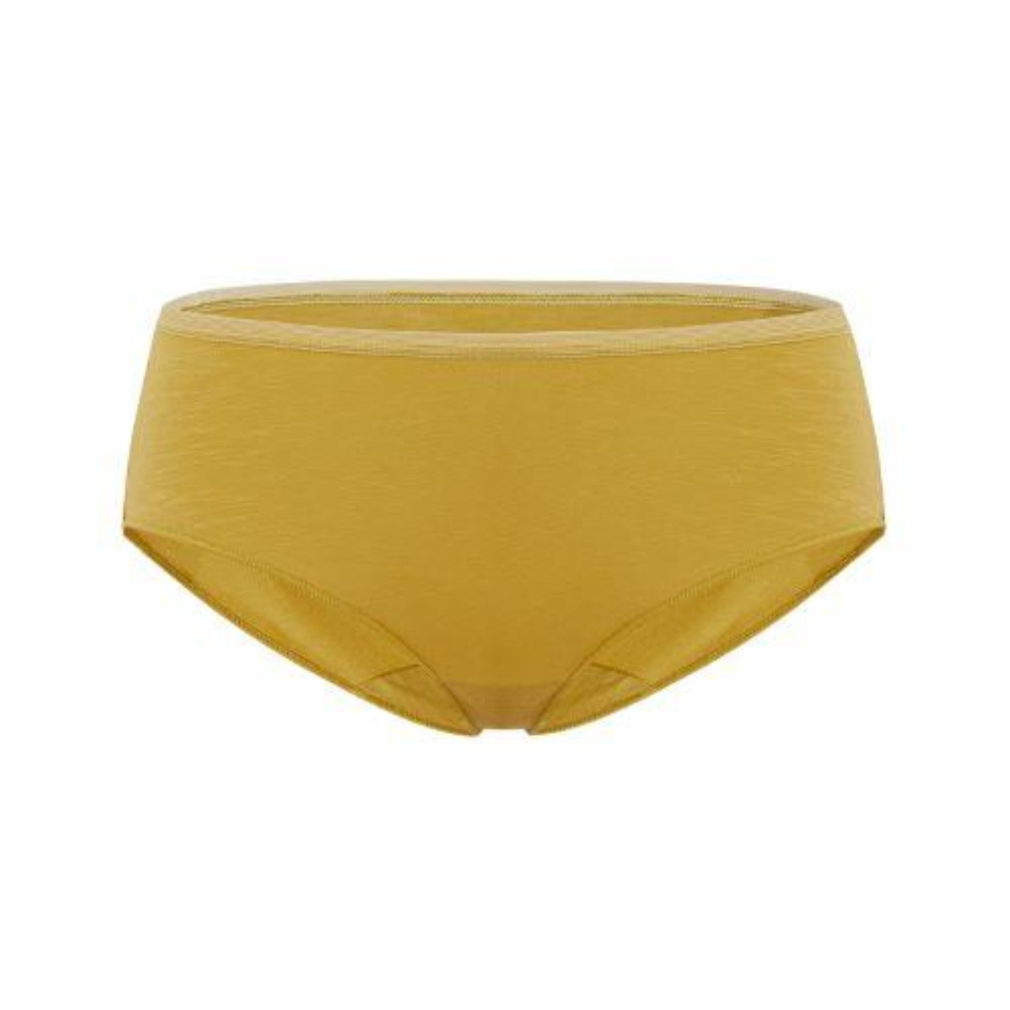 NEIWAI's Pure Comfort Turkish Cotton High Waist Brief in Warm Olive..
