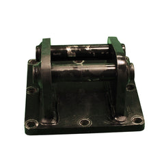 Welded pin quick hitch bracket