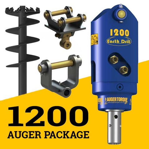 1200 AUGER PACKAGE WITH SINGLE PIN HITCH (0.7 - 1t)