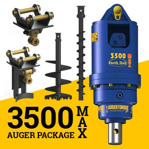 3500MAX AUGER PACKAGE  WITH DOUBLE PIN HITCH (3.5t)