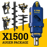 X1500 AUGER PACKAGE  WITH DOUBLE PIN HITCH (1.5 - 3t)