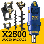 X2500 AUGER PACKAGE  WITH DOUBLE PIN HITCH (1.5 - 3t)