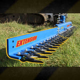 HEDGE TRIMMER EXTENSION SHAFT (OPTIONAL) FOR 1.5 - 8T