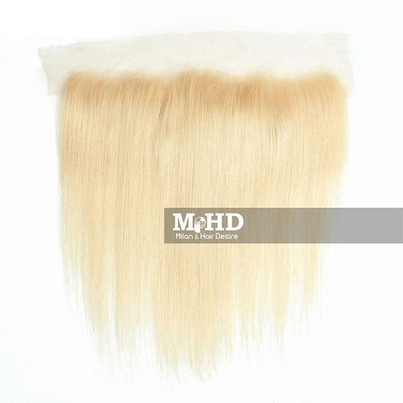 613 Premium Blonde 13*4 Straight Lace Frontal - MILAN HAIR DESIRE