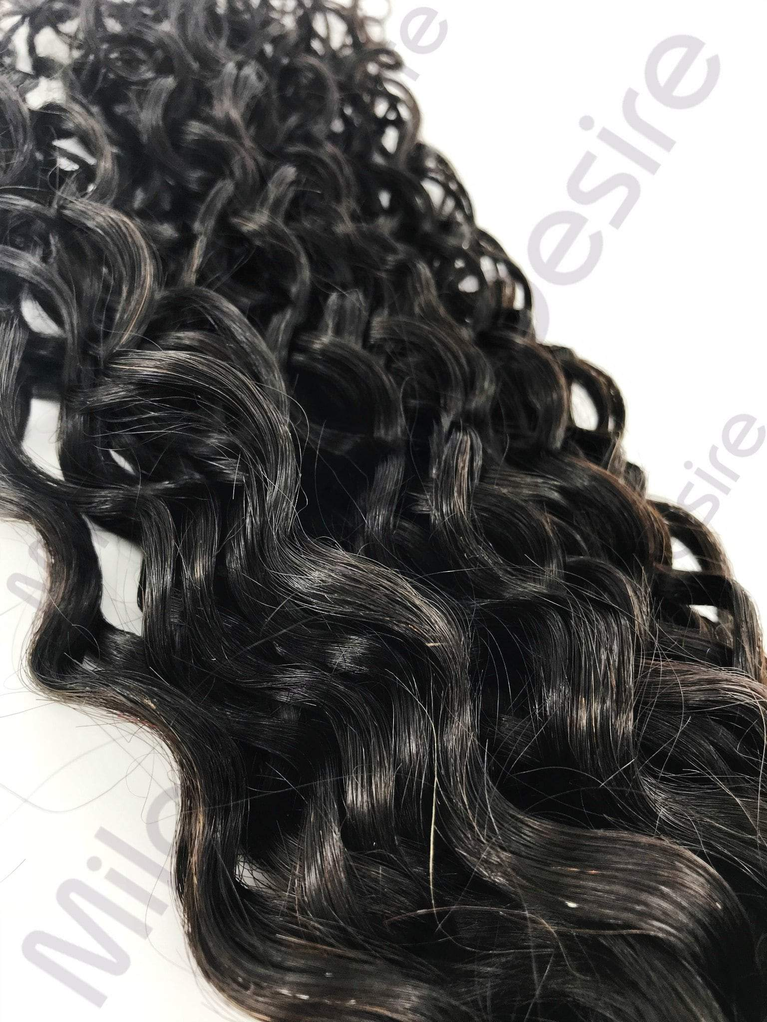Virgin Brazilian Deep Curl Close Up