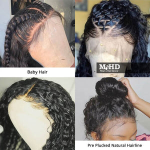 Curly Human Hair Full Lace Wig