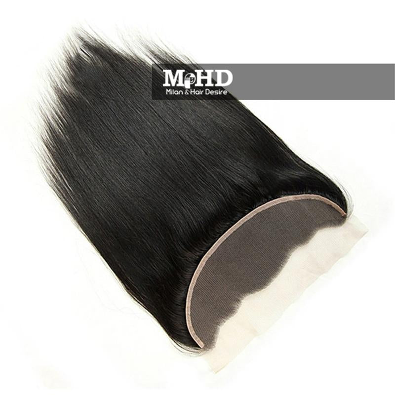 HD 13*4 Straight Swiss Lace Frontal - MILAN HAIR DESIRE