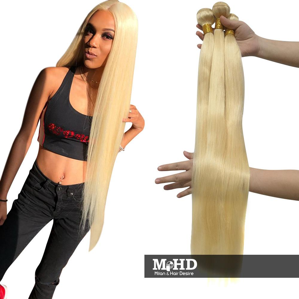 Inches! 40 Inches 613 Blonde Long Hair