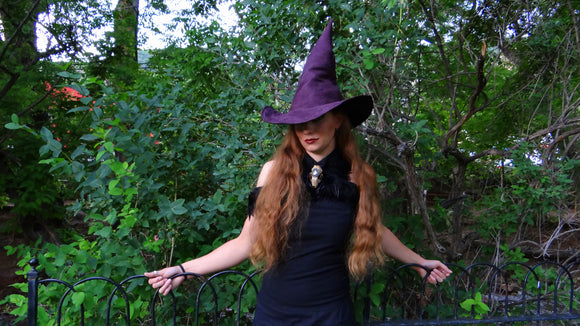 Plum Witch Hat