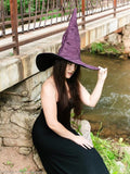 Plum Purple Extra Large Witch Hat