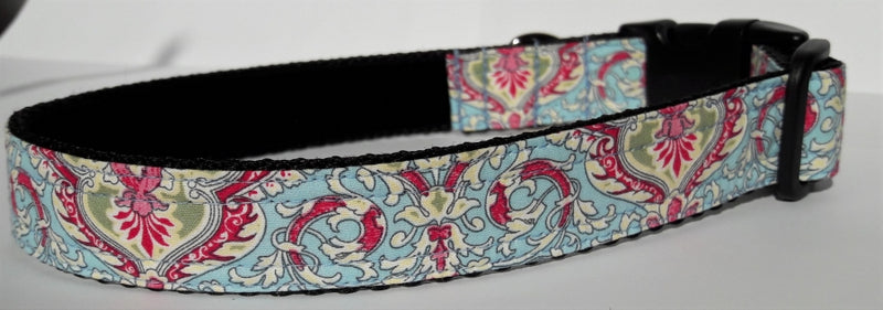 Blue Paisley Collar