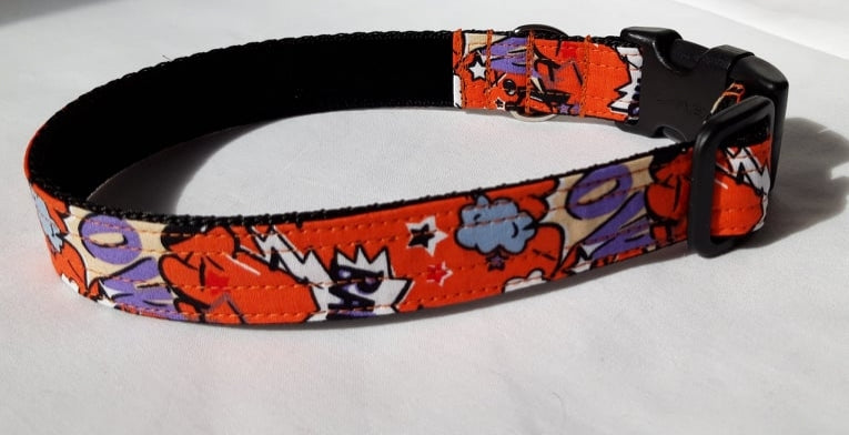Orange Smash Bang Collar