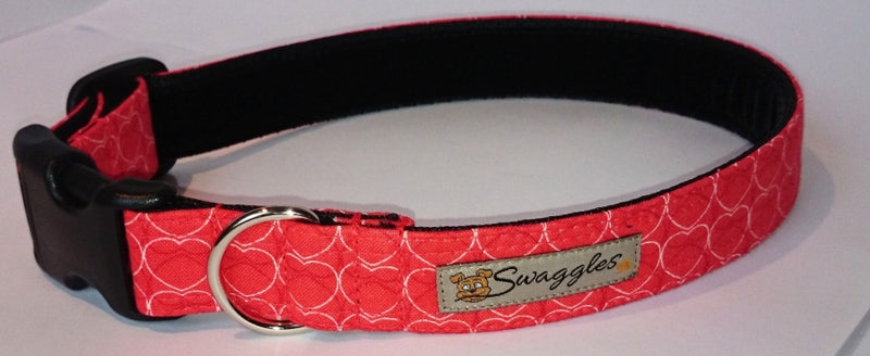 Tangerine Hearts Collar