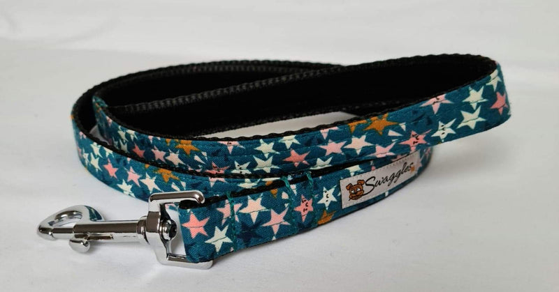 Teal Multicoloured Stars Lead