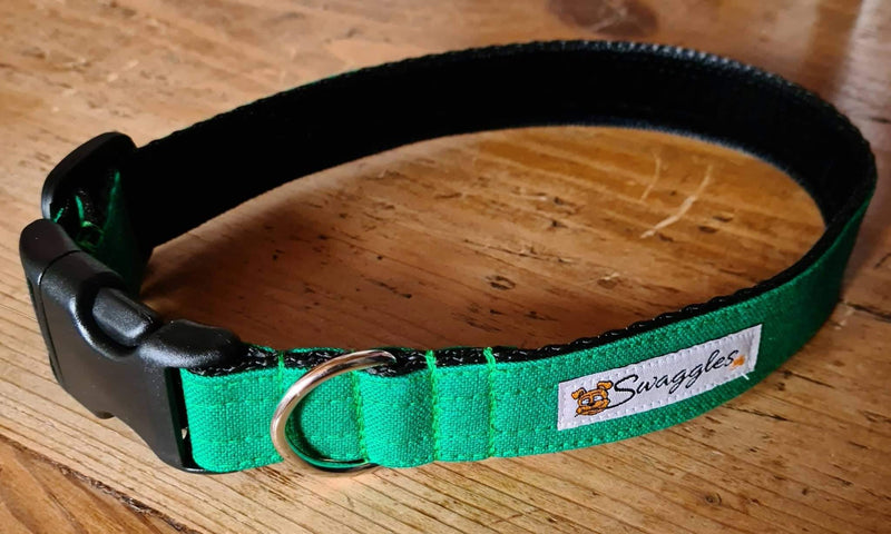 Canvas Emerald Green Collar
