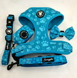 Turquoise Paws Poop Bag Holder
