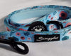 Blue and Pink Scandi Floral Lead