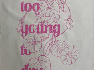 "Puntastic Geschirrtuch ""Too Young To Dry"""