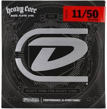 Dunlop HEAVY CORE ELECTRIC GUITAR STRINGS 11-50