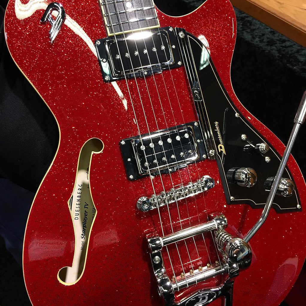 Buy Duesenberg Starplayer TV Red Sparkle Online