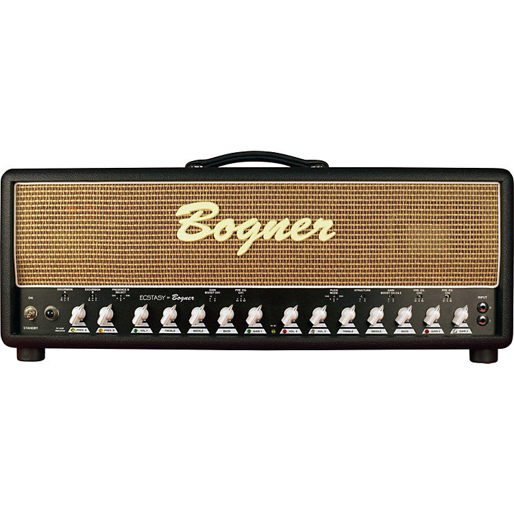 Buy Bogner Amplification 20th Annivesary Ecstasy Head 100 Watts with 6L6 Tubes