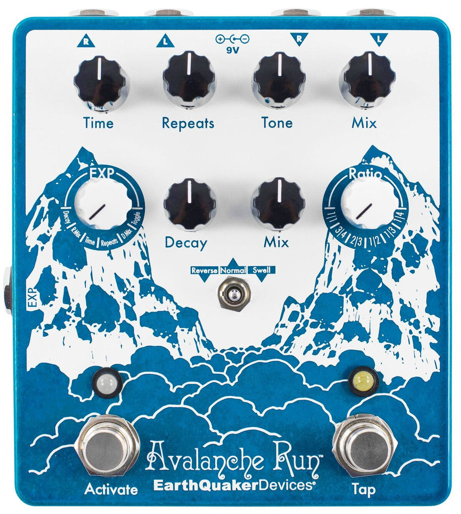 EarthQuaker Devices Avalanche Run (Stereo Delay & Reverb) V2