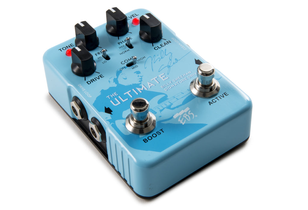 EBS Effects Billy Sheehan Ultimate Signature Drive