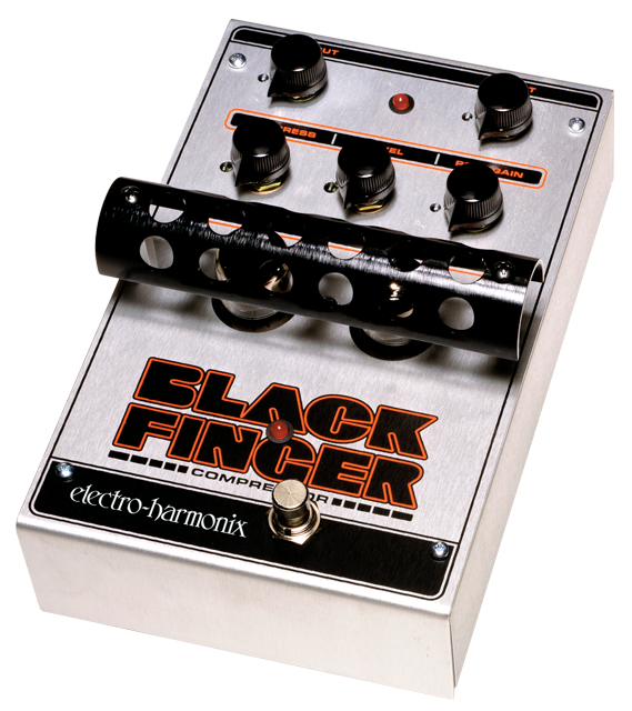 Buy Electro-Harmonix Black Finger Tube Compression Pedal Online