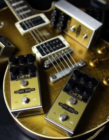Origin Effects Cali76 Compact Deluxe Limited Edition Gold