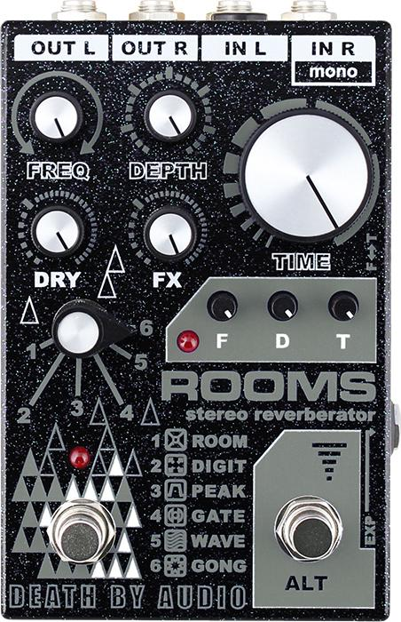 Death By Audio Rooms Reverb