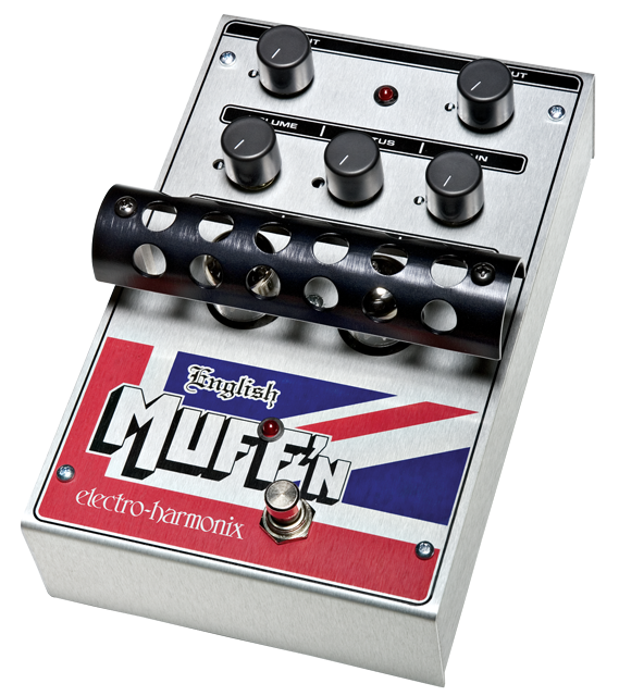 Buy Electro-Harmonix English Muff'n Tube Overdrive Pedal Online