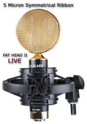 Cascade Microphones Fat Head LIVE Short Ribbon Microphone
