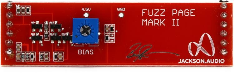 Jackson Audio FUZZ Page Mark II Analog Plug-in for Modular FUZZ Pedal