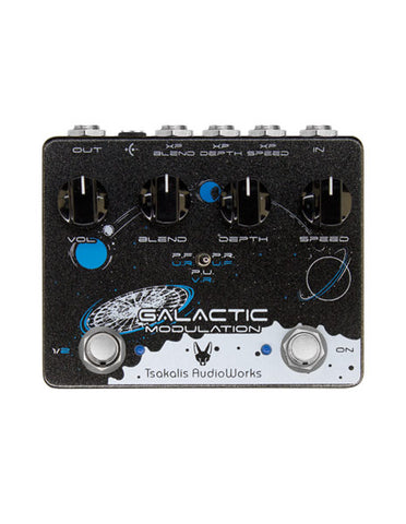 Tsakalis Audio Works Galactic Modulation Pedal